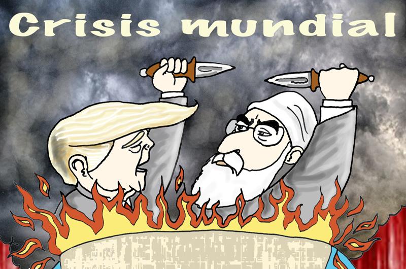 Editorial: Entre bombardeos e incendios
