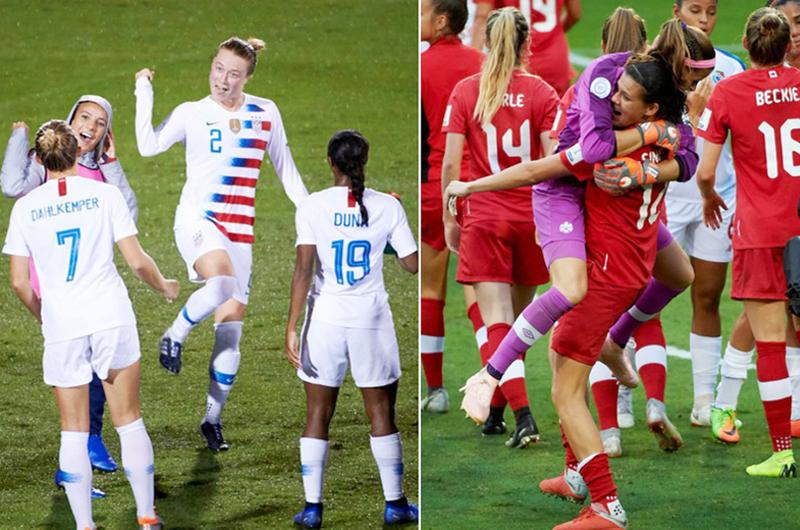 EU y Canadá clasificaron a Mundial Femenil de fútbol