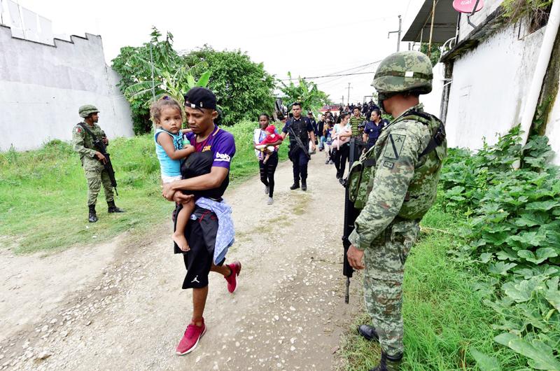 La Human Rights Watch zz acusa a México de expulsión masiva de migrantes sin debido proceso