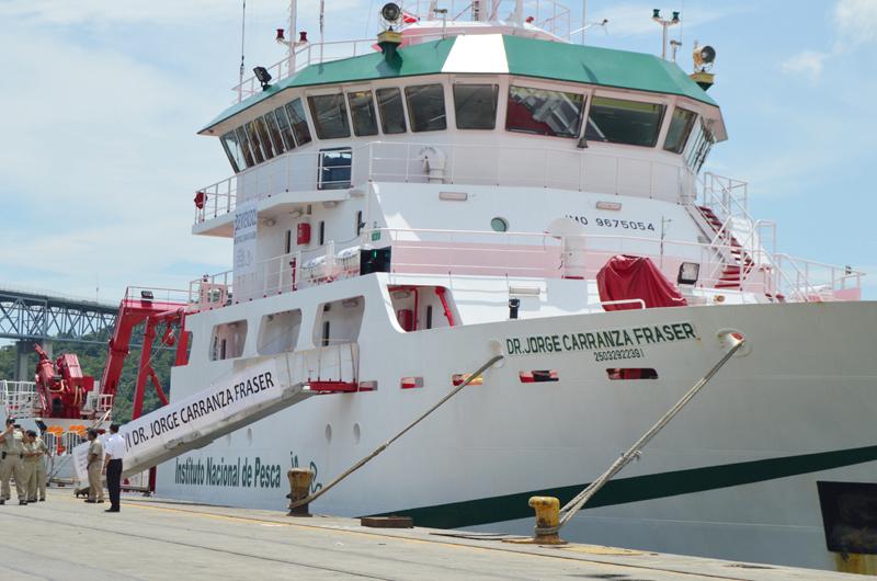 Culmina barco mexicano evaluación de recursos pesqueros de Centroamérica