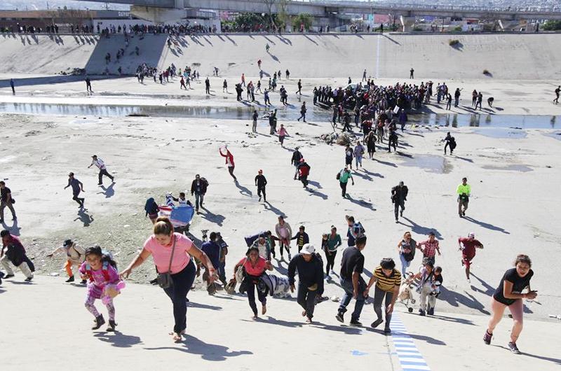 Estados Unidos espera la mayor ola de migrantes de los últimos 20 años