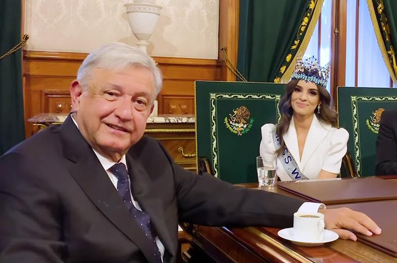 López Obrador se reunió con ganadora de Miss Mundo 2018