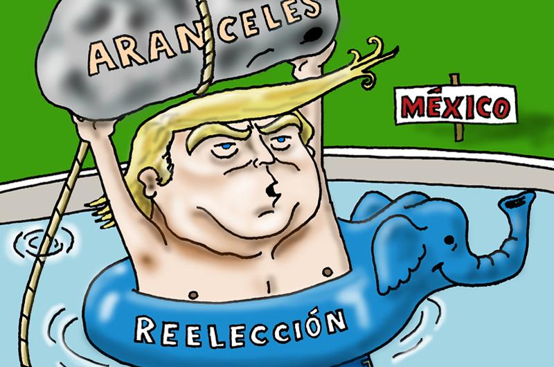 Editorial: Estados Unidos y México... aranceles y tensión