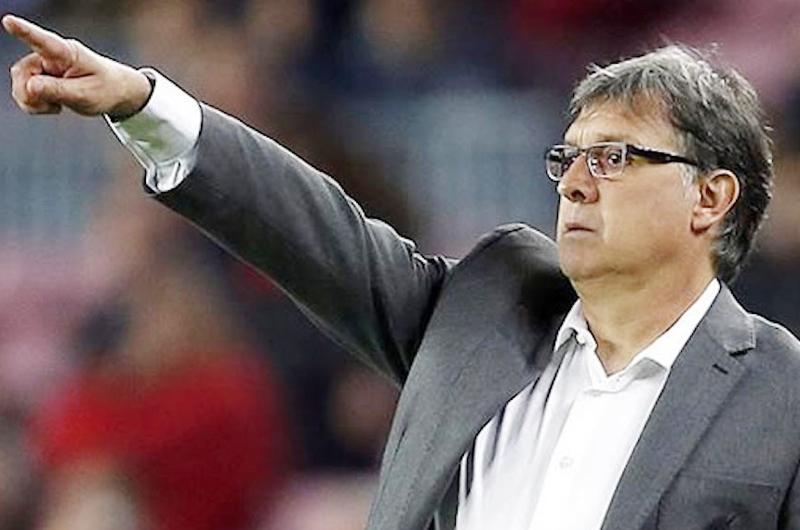 """""""Tata"""" Martino reconoce obligación del Tri en Copa de Oro"""