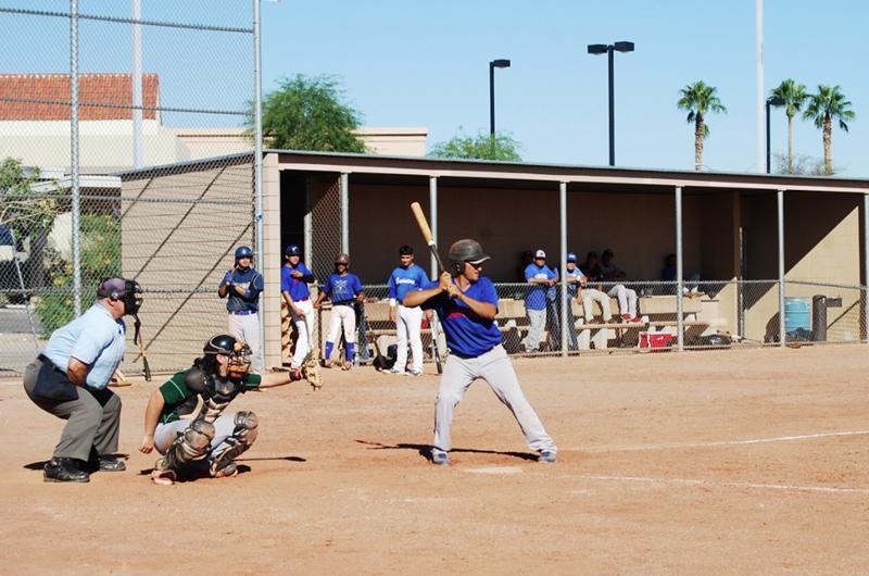 Las Vegas Baseball League espera que se de la voz de juego