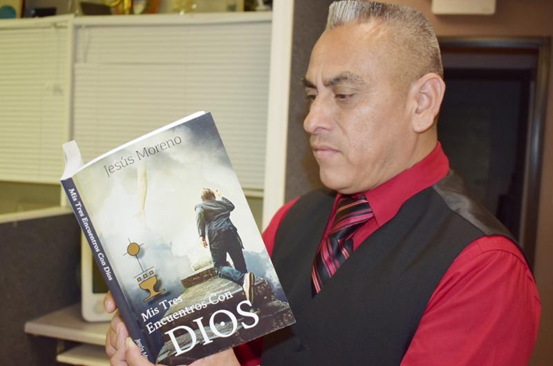 'Mis Tres Encuentros Con Dios', un libro de Jesús Moreno