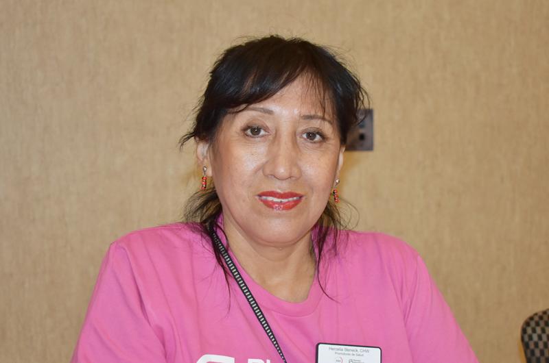 La doctora Hercilia Steneck; una apasionada al servicio de la gente