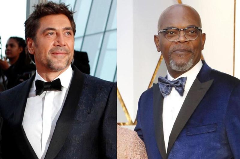 Javier Bardem y Samuel L. Jackson serán presentadores en el Oscar