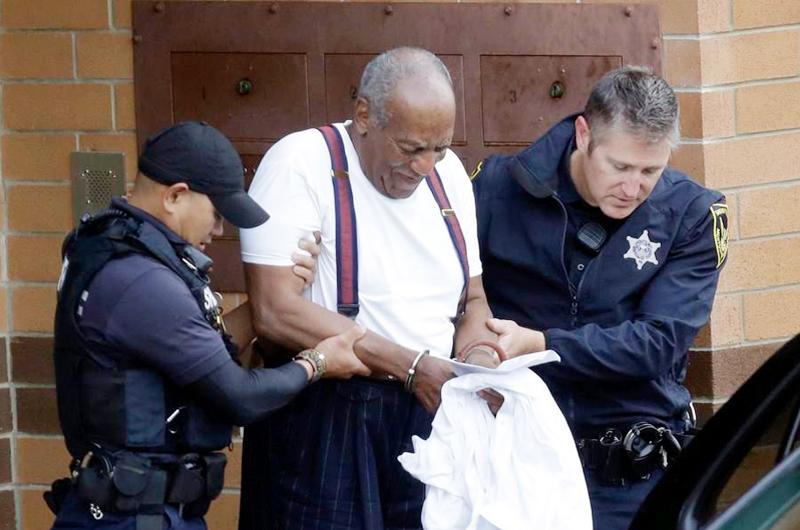 Por agresión sexual ya está en prisión Bill Cosby