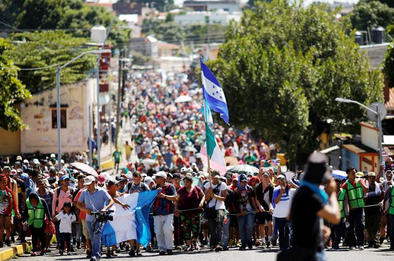 Caravana migrante, desafío  humanitario para México: Arquidiócesis
