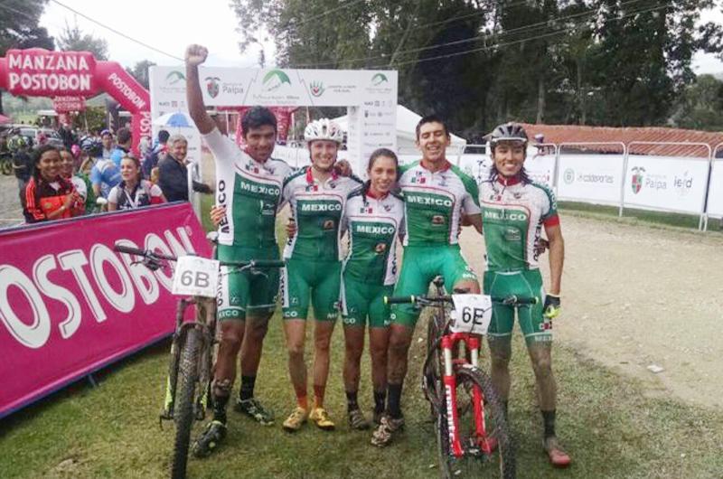 Obtuvo México los primeros lugares en Campeonato Panamericano de Ciclismo de Montaña