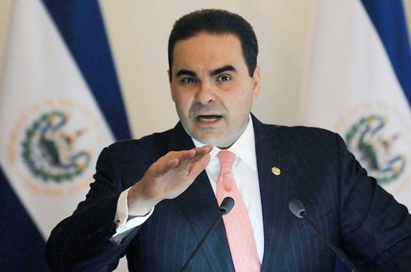Confirman condena contra expresidente de El Salvador