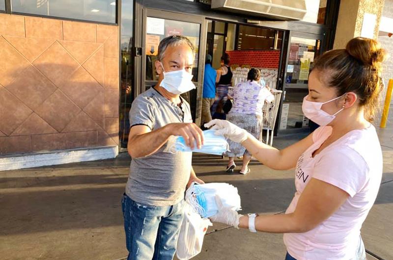 Muestra de solidaridad: Ofrecieron más de 4 mil mascarillas vs Coronavirus