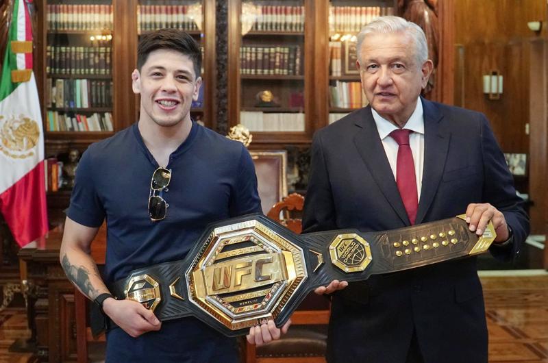 El presidente López Obrador califica de