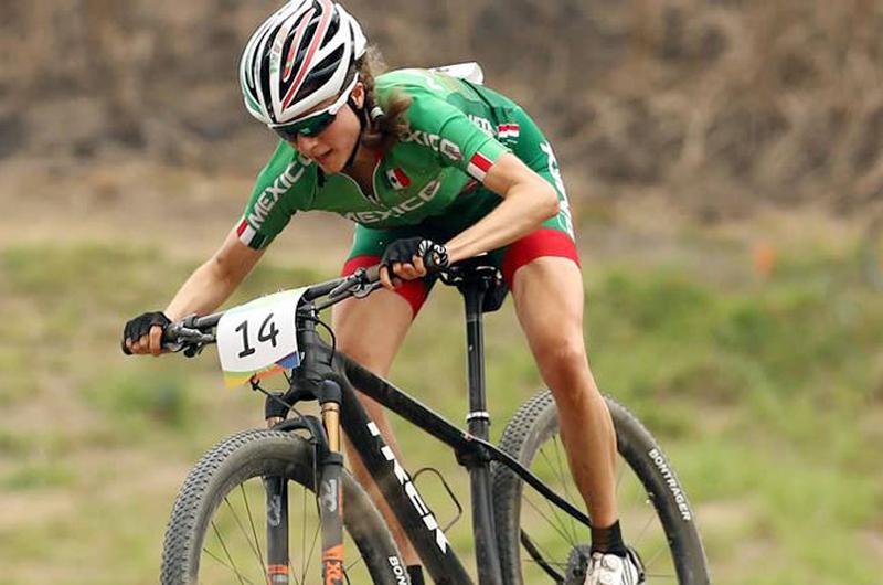 Ciclista mexicana Daniela Campuzano ganó oro en Copa UCI Puerto Rico