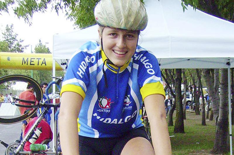 Ciclista Daniela Campuzano motivada para buscar cupo a Tokio 2020