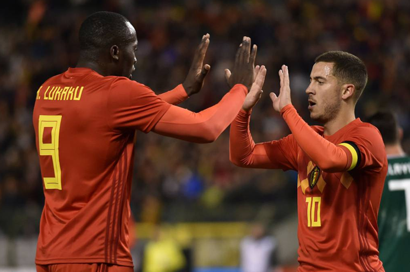 Bélgica ve posibilidad de victoria frente a Brasil en cuartos de final