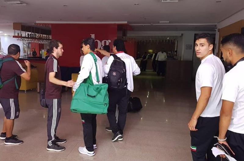 Llega a Colombia segundo contingente de atletas mexicanos