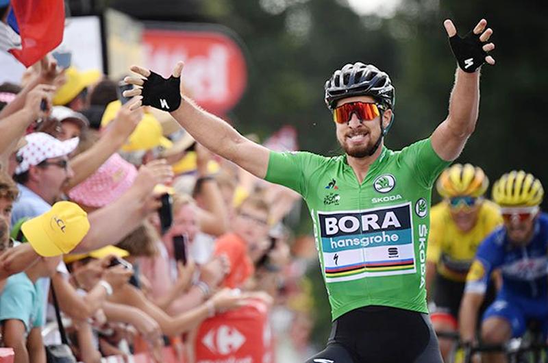Eslovaco Peter Sagan se lleva quinta etapa de Tour de Francia 2019