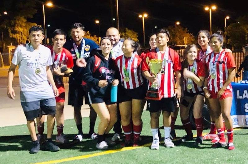 LV Valley Soccer League: Teletubbies: cuatro títulos consecutivos