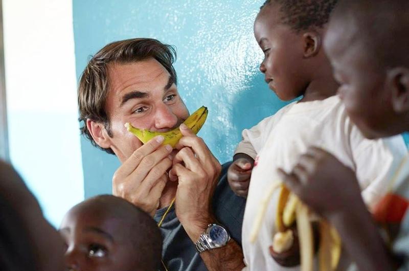 Fundación de Roger Federer apoyará a los niños de África con alimentos