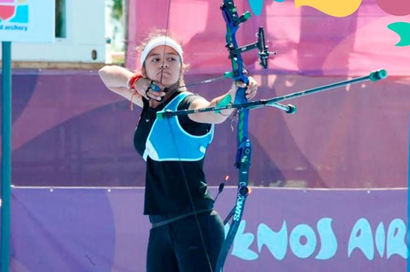 Arquera Valentina Vázquez quiere alcanzar sueño olímpico