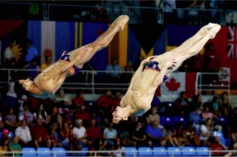 Pacheco y Ocampo dan bronce a México en Copa Mundial de Clavados
