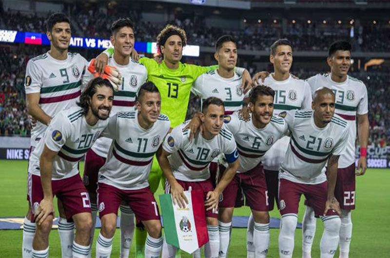 Se concentró la selección mexicana de futbol