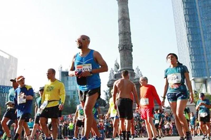 Cuatro mil 200 policías vigilarán Maratón de Ciudad de México