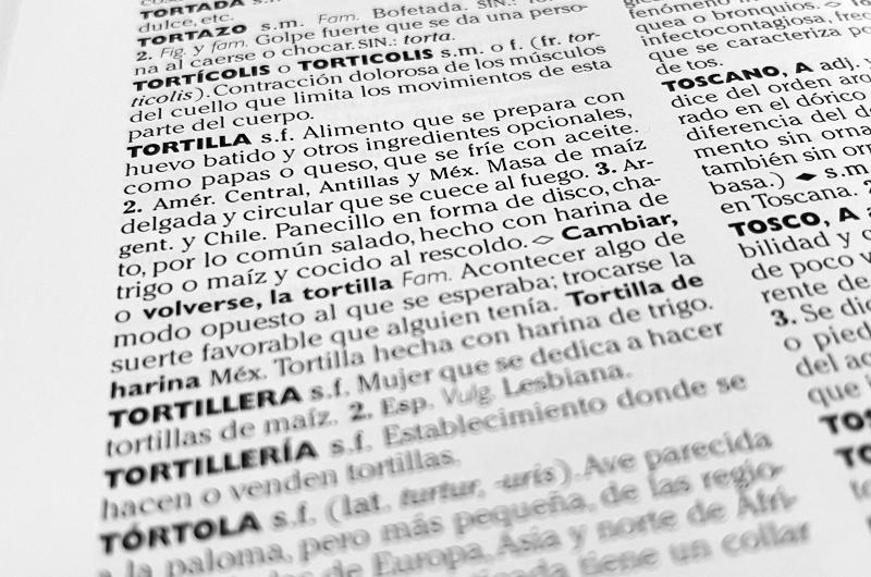 Bilingüismo... Algunas palabras y las érroneas interpretaciones