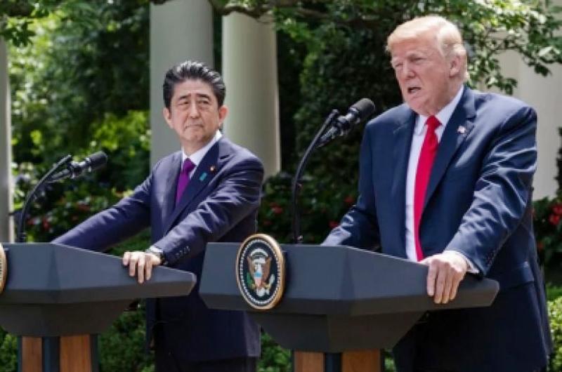 Difieren Abe y Trump sobre tema norcoreano