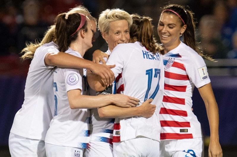 Estados Unidos e Inglaterra van por boleto a la final de Mundial Femenil