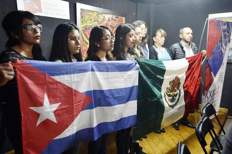México y Cuba celebraron amistad con Encuentro Nacional de Solidaridad