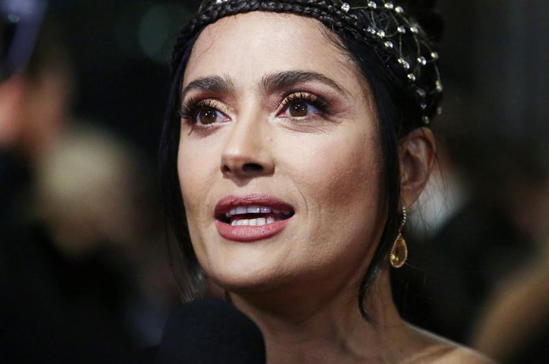 """Actriz Salma Hayek narrará la serie """"Nuestro planeta"""" de Netflix"""