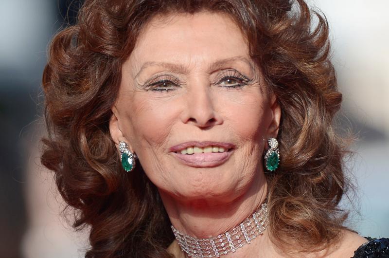 A sus 84 años, Sophia Loren reaparecerá en el cine