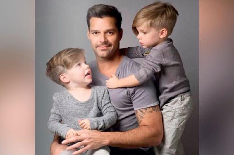 """""""Tengo unos hijos con una gran necesidad de hablar"""": Ricky Martin"""