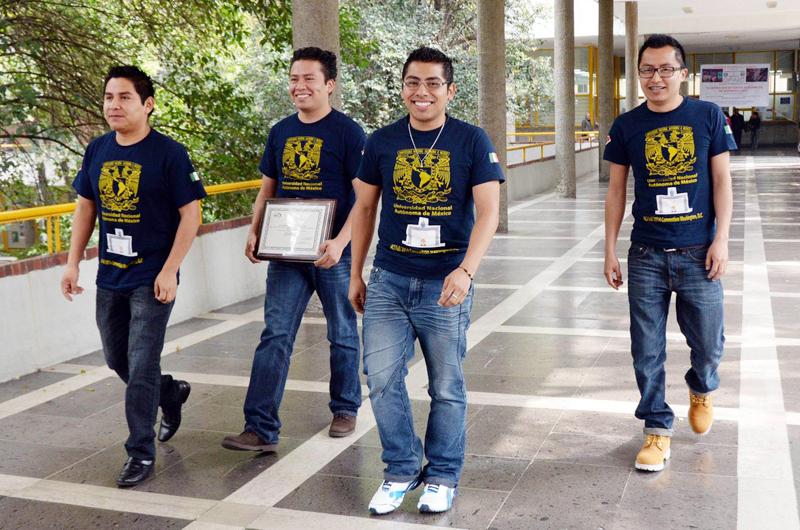 Estudiantes de la UNAM se impusieron en concurso de ingeniería civil en EU