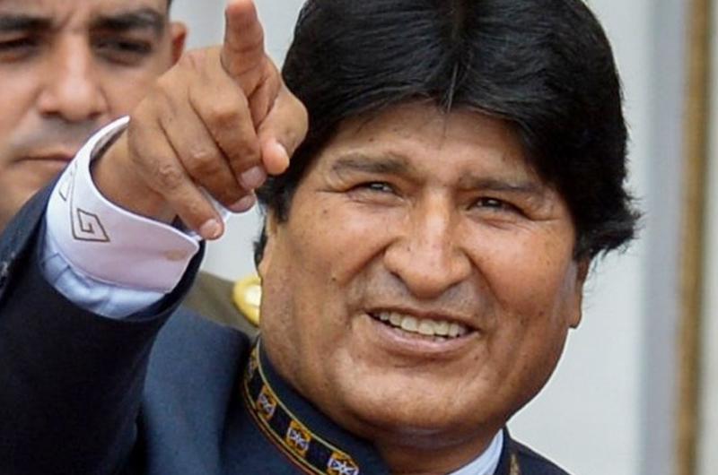 Agradece Evo Morales apoyo de Bernie Sanders