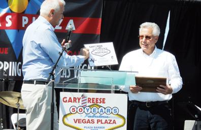 Transcurrió medio siglo de servicio a la comunidad: Gary Reese