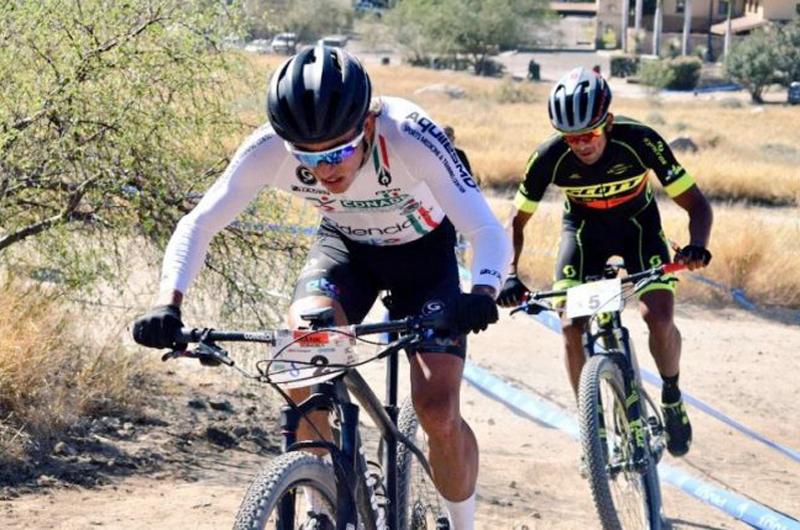 Ciclistas mexicanos se instalan para el Campeonato Mundial MTB