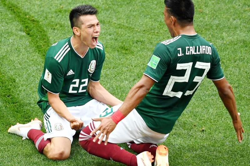 México vence 3-1 a Uruguay en su debut en Copa América