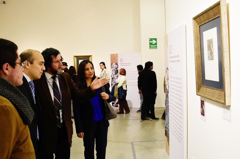Exhiben obras de Francisco de Goya y Salvador Dalí en Puebla