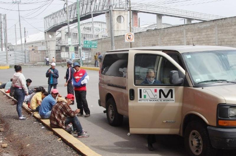 El Instituto Nacional de Migración entregó a presunto  delincuente a El Salvador