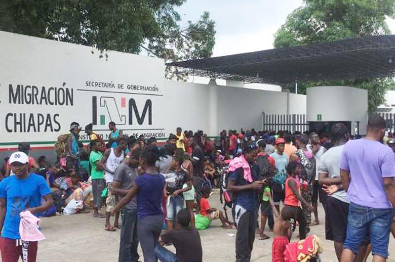 Revisaron organismos  internacionales estación migratoria en Chiapas