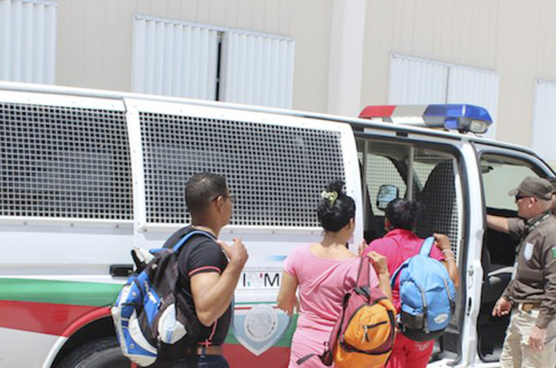 En Reynosa, Tamaulipas agentes federales rescataron a 37 migrantes centroamericanos