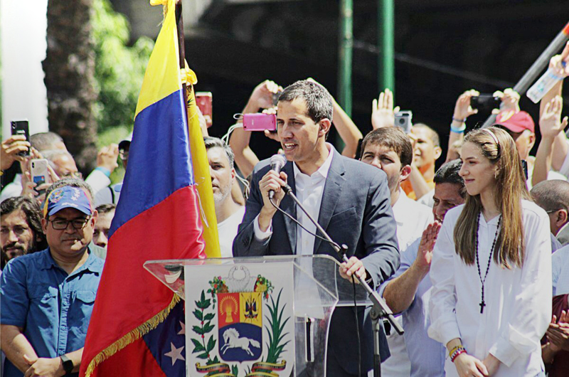 Entrevista con el presidente Juan Guaidó