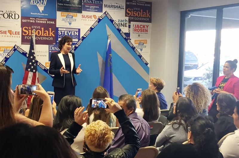 Congresista Jacky Rosen quiere luchar por la comunidad latina de NV