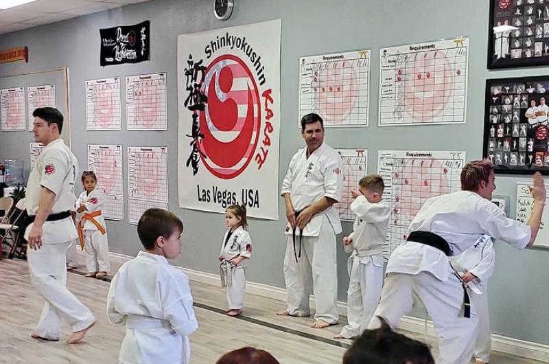 Shinkyokushinkai en LV... Se recogen frutos de un excelente trabajo