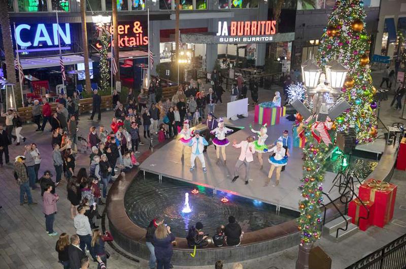 Campaña para atraer visitantes a LV el Día de Acción de Gracias y Navidad