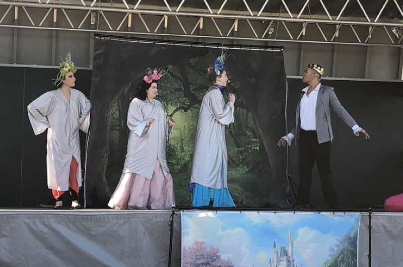 'La Princesa y la flauta mágica'... Fiesta del teatro y la ópera en el Durango Hills Park
